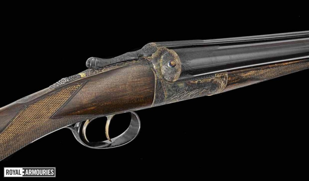 the raven gun engraved by Malcolm Appleby