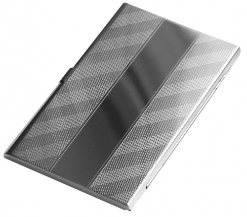 Edinburgh Silver Solid silver business card holder the perfect graduation gift