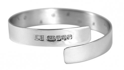 silver bangle graduation gift for her