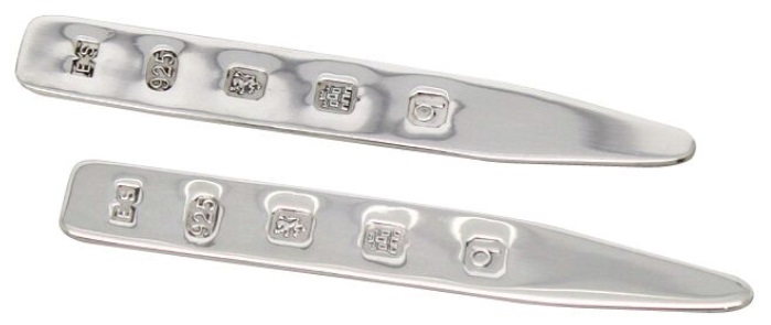Silver hallmarking two examples