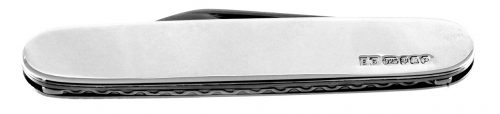 solid silver penknife