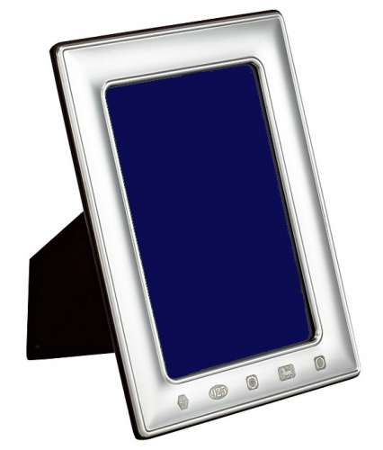 Hallmarked silver photo frames 8 x 10 inches