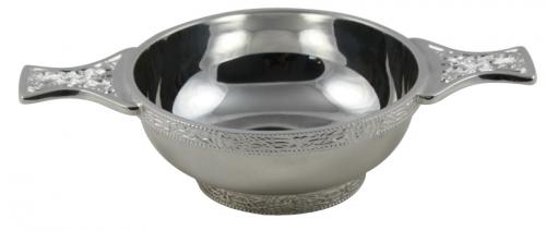 silver plated quaich