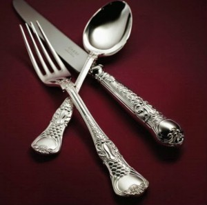 coburgh silver cutlery