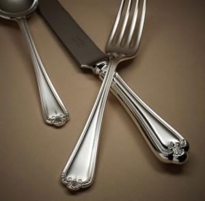 Desmond silver cutlery