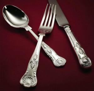 kings silver cutlery