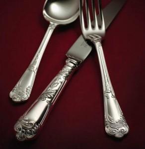 la regency silver cutlery