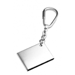 Solid Silver Hallmarked Key Ring 511005