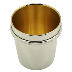 Silver Plated Shot CupCHR
