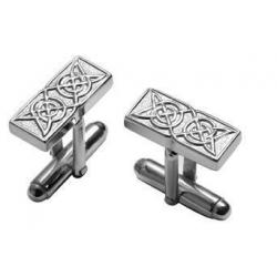 Silver Celtic Cufflinks CUFFN