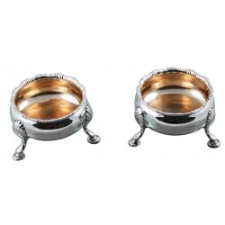 Antique  Silver Salts DRH