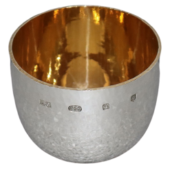 Solid Silver Tumbler Cup