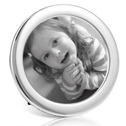 Silver Round Frame PC3
