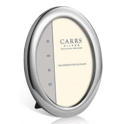 Silver Oval Photo Frame PO4