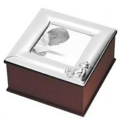 Silver Plated Keepsake Box SPWG006