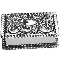 Solid Silver Box STC054