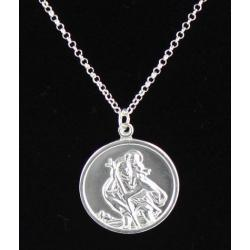 Sterling Silver St Christopher 1