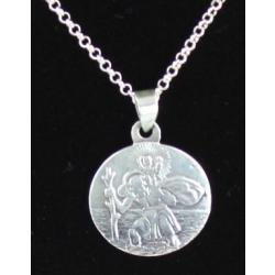 Solid Silver St Christopher2