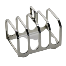 Solid Silver Toast Rack T9009
