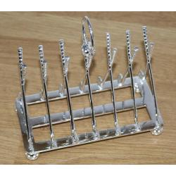 Silver Plated Toast Rack c.1950