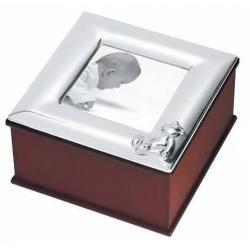 Solid Silver Picture Box WG006